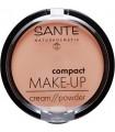 Sante - Mineralny puder w kompakcie 01 Vanilla 9g