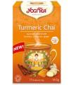 Yogi Tea -  Złoty czaj z kurkumą TURMERIC CHAI (17 x 2,0 g) BIO