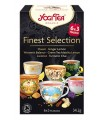 Yogi Tea - Wyborny zestaw 18 torebek (6x3torebki) 34,2g