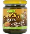 Krem orzechowo - czekoladowy SAMBA Dark BIO 250 g - RAPUNZEL