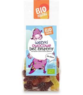PUR YA! - Napój białkowy w proszku o smaku waniliowym z truskawką BIO 550g