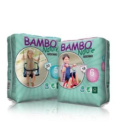 Pieluchomajtki BAMBO Nature Pants