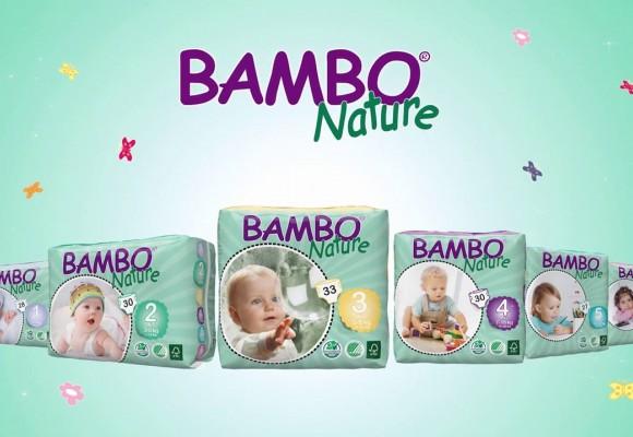 Pieluszki BAMBO Nature