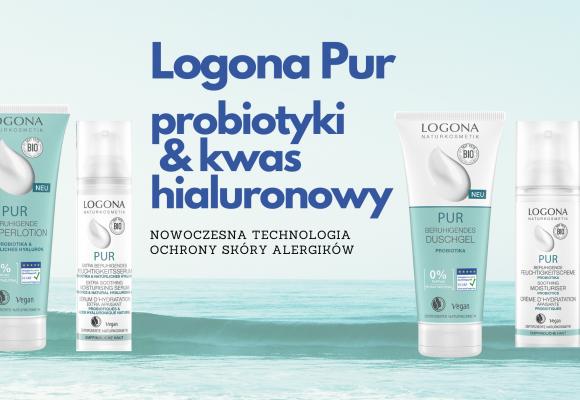 Nowa odsłona ekologicznej serii dla alergików Logona Pur.